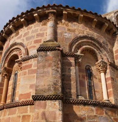 Iglesia de San Vicente - Becerril del Carpio - Románico Norte