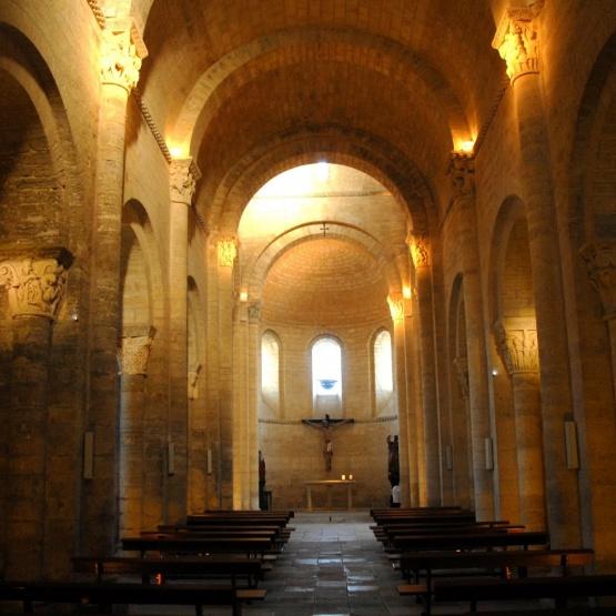 Fromista, interior