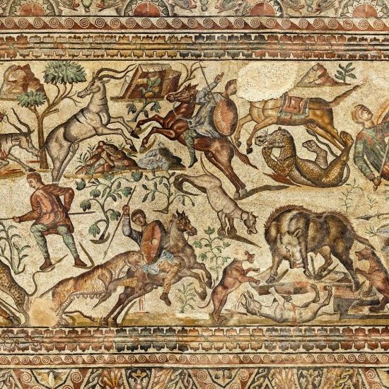 La Olmeda, mosaico completo