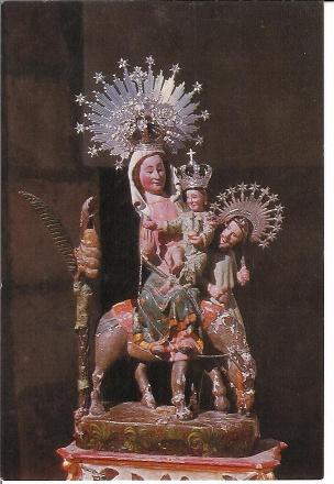 Virgen de Revilla cofradia baltanas