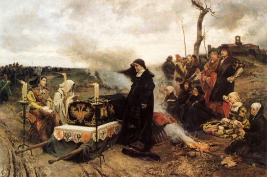 Doña Juana La Loca - Cuadro de Francisco de Pradilla (1877)